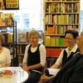 Lesung am 8. Mai 2009 in Lhotzkys Literaturbuffet - Petra Wilhelmi, Barbara Finke-Heinrich, Marcela Vsetickova, Thomas Mokkahoff