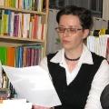 Lesung am 8. Mai 2009 in Lhotzkys Literaturbuffet - Marcela Vsetickova liest