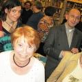 Lesung am 8. Mai 2009 in Lhotzkys Literaturbuffet - Petra Wilhelmi, Georg Schober, Nadine Pauland