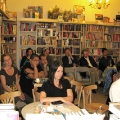 Lesung am 8. Mai 2009 in Lhotzkys Literaturbuffet  - Publikum