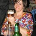 Lesung am 8. Mai 2009 in Lhotzkys Literaturbuffet - die föhliche und entspannte Veranstaltung in Person