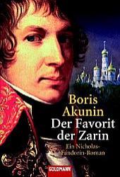 Buchcover-Der Favorit der Zarin