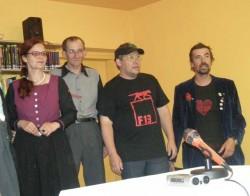 Die Mitglieder vom Augustin-Chor Stimmgewitter in Aktion