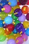 Luftballons tragen den Duftenden Doppelpunkt in die Welt