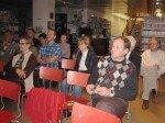 Publikum in der Bücherei Sandleiten