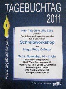 Plakat vom Tagebuchtag 2011