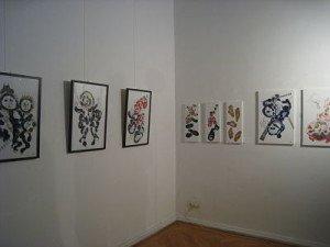 """Ausstellung """"Wunderbunte Welten"""" von Frau Doris Distelmaier-Haas"""