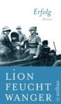 Buchcover Lion Feuchtwanger, Erfolg