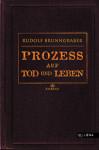 Buchcover Rudolf Brunngraber Prozess auf Tod und Leben Milena Verlag