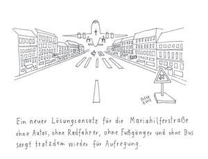 Cartoon von Michael Dufek