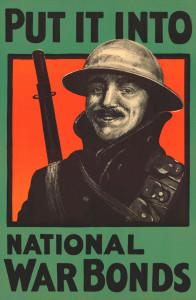 "Plakat 1918: ""Put It Into National War Bonds."