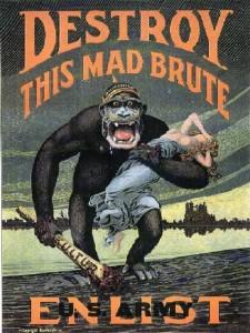 Plakat  aus dem Jahr 1917 von H. R. Hopps (1869–1937)