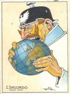Karikatur Kaiser Wilhelms  II.
