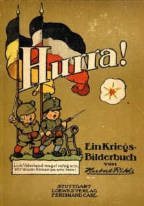 Hurra! Ein Kriegs-Biderbuch von Herbert Rikli