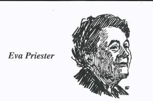 Eva Priesters -  Grafik von Bruno Furch