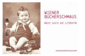 Postkarte Wiener Bücherschmaus
