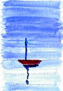 Ansichtskarte 2 vom Meer