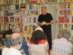 Gerhard Loibelsberger liest im Wiener Bücherschmaus aus Kaiser, Kraut und Kieberer