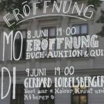 Eröffnung der Buchhandlung Wiener Bücherschmaus in Wien-Mariahilf
