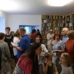 Eröffnung der Buchhandlung Wiener Bücherschmaus