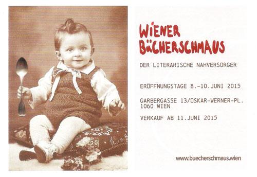 Der Wiener Bücherschmaus eröffnet seine Buchhandlung