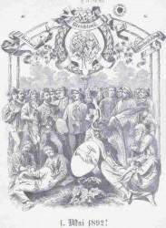 1. Mai 1892 - Festschrift der Sozialistischen Partei Österreichs. Wien.